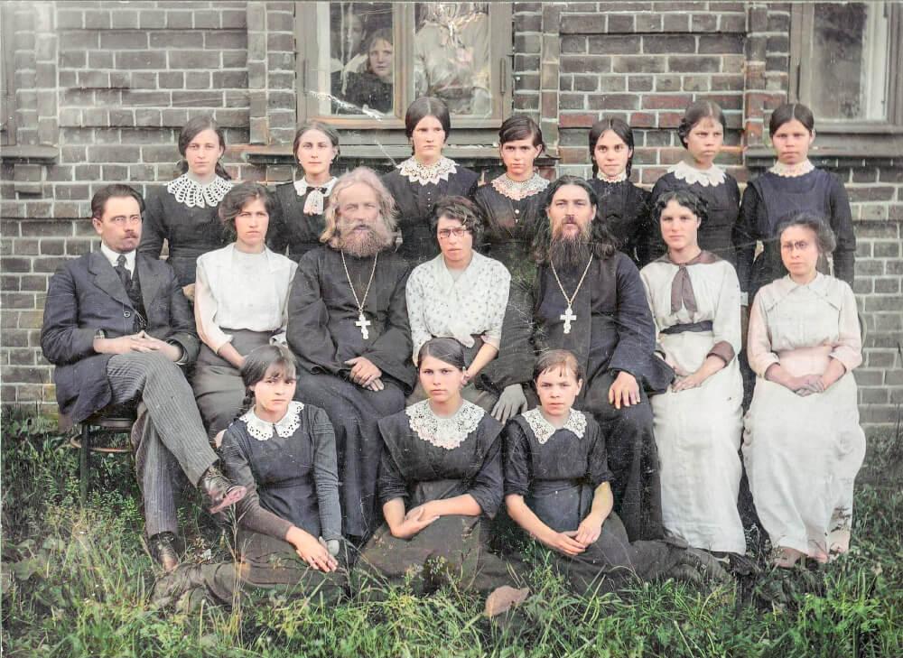 Надеждины духовенство фото