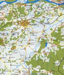 Карта Богородского района.